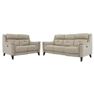 Mayte Cream Living Room Set