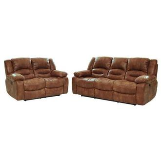Wrangler Tan Living Room Set