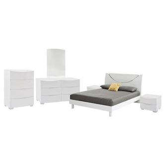 Jolie White 6-Piece Queen Bedroom Set