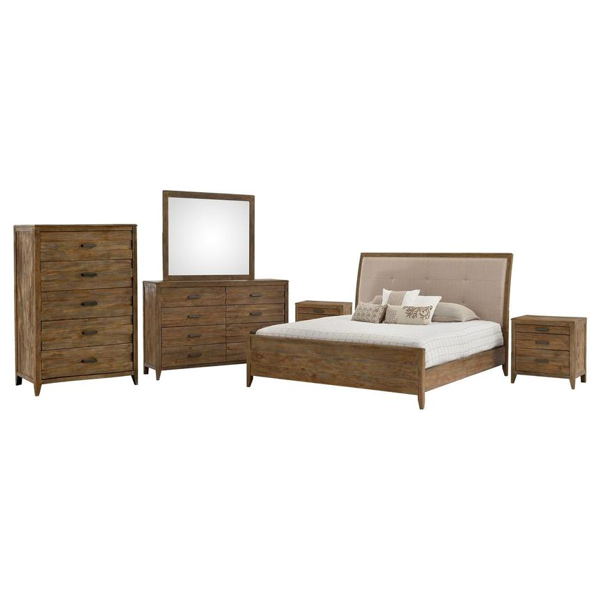 Turino 6-Piece Queen Bedroom Set | El Dorado Furniture