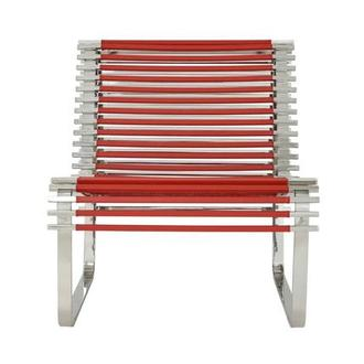 Sensation Red Accent Chair