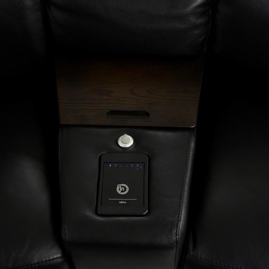 Jeremy Home Theater Leather Seating  alternate image, 10 of 16 images.