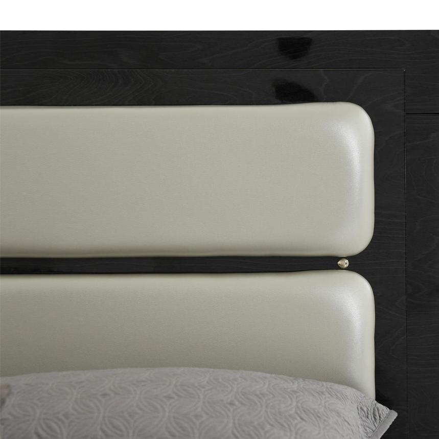 Ally Gray King Platform Bed w/Nightstands  alternate image, 5 of 14 images.