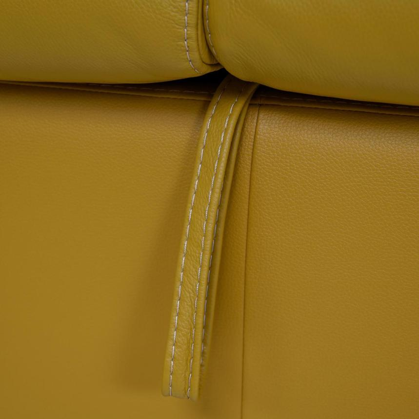 Bay Harbor Yellow Leather Sleeper  alternate image, 10 of 11 images.