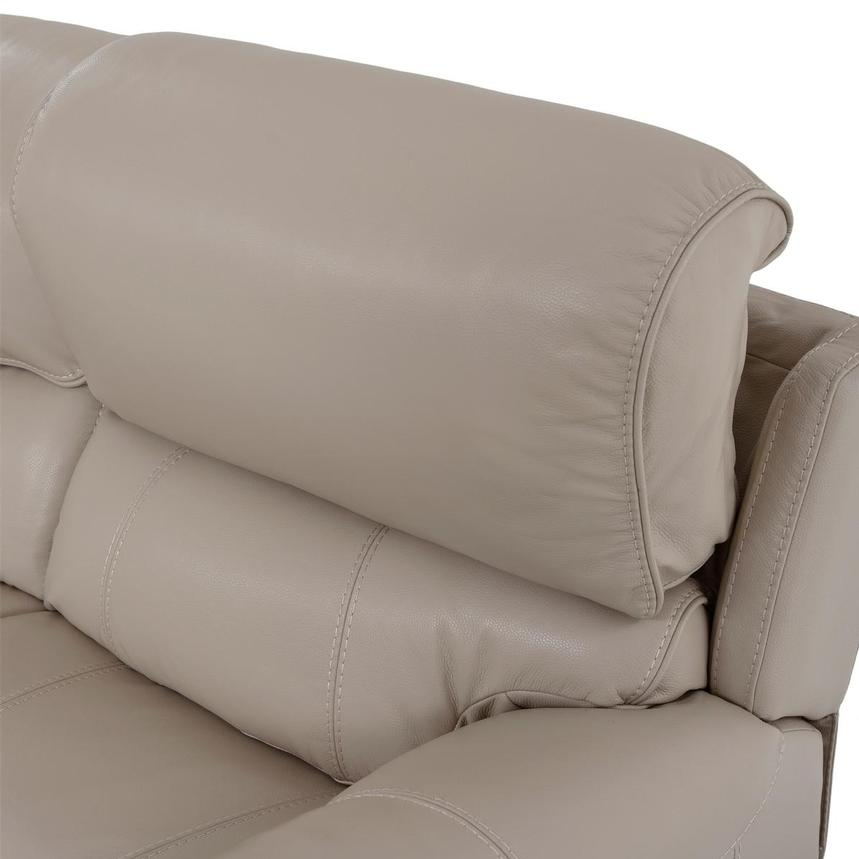 Cody Cream Leather Power Reclining Loveseat  alternate image, 6 of 11 images.