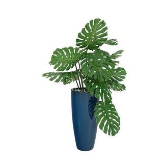 Monstera Blue Planter