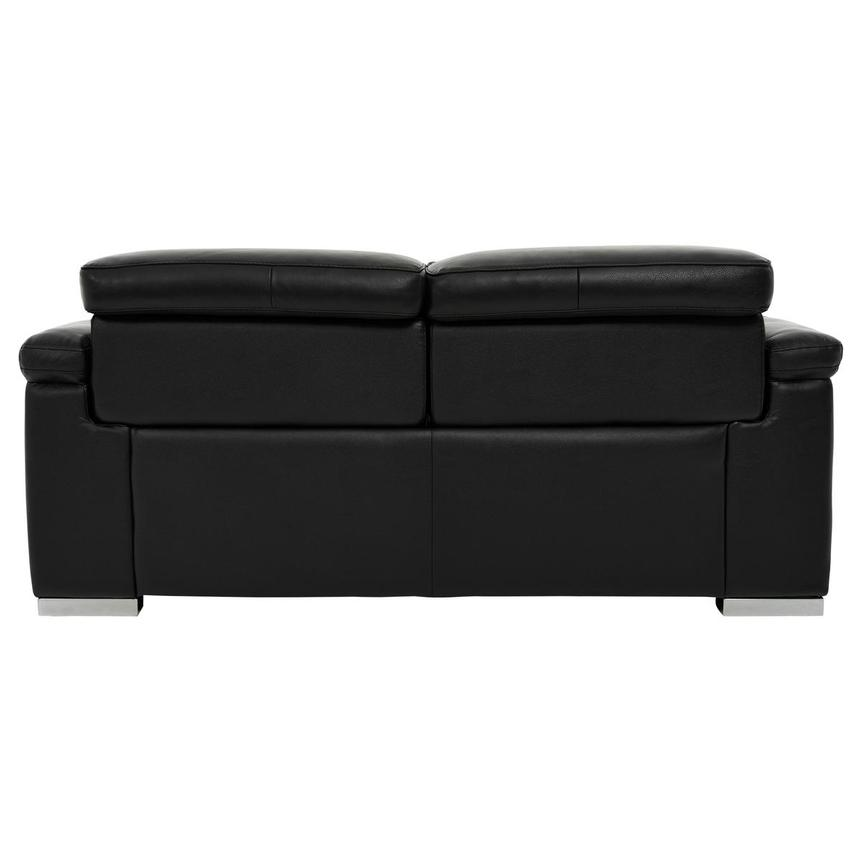 Charlie Black Leather Power Reclining Loveseat  alternate image, 5 of 11 images.