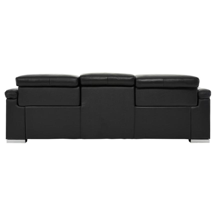 Charlie Black Leather Power Reclining Sofa  alternate image, 5 of 11 images.