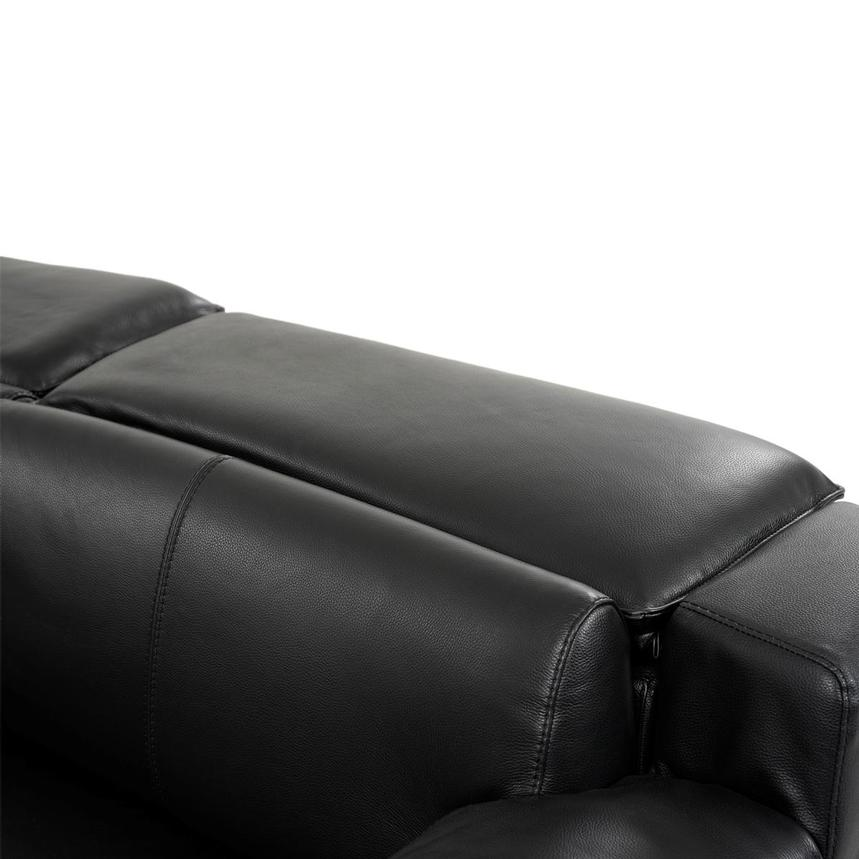 Jeremy Power Motion Leather Sofa w/Right & Left Recliners  alternate image, 6 of 10 images.