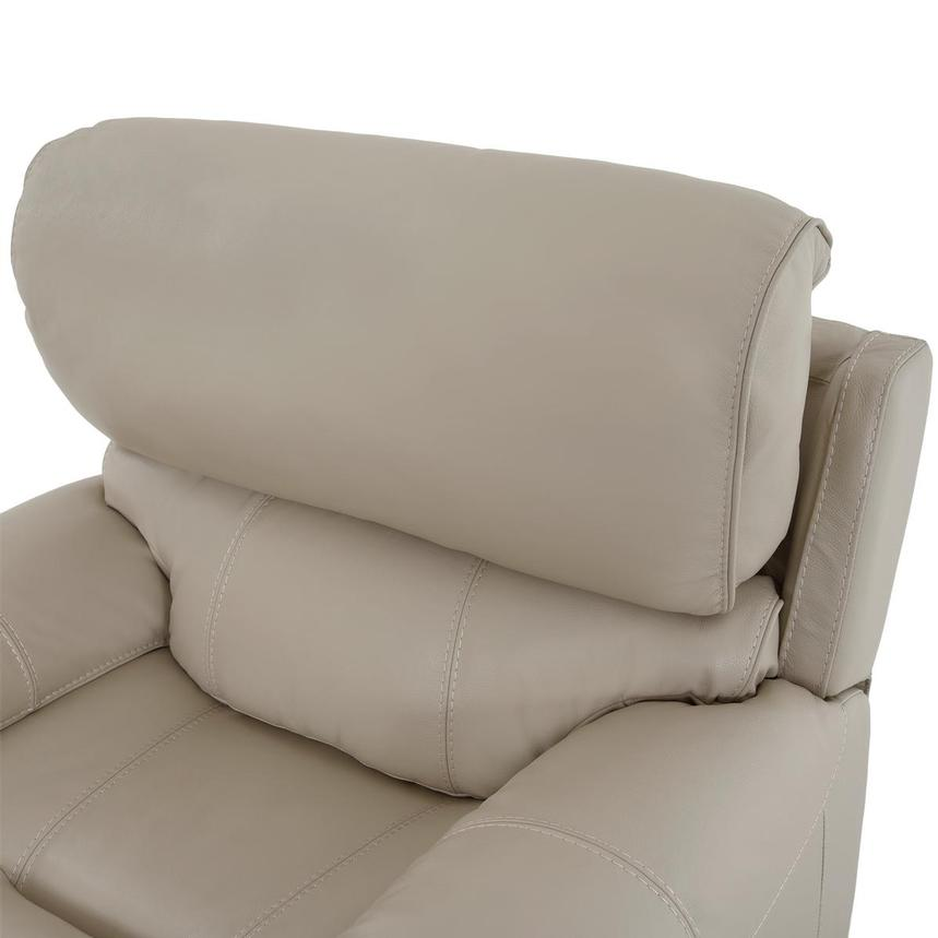 Cody Cream Leather Power Recliner  alternate image, 6 of 11 images.