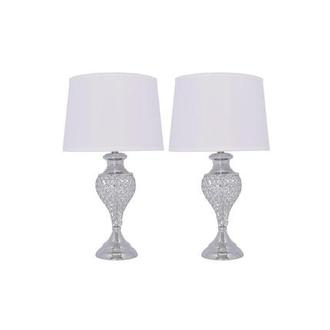 Glitzy Set of 2 Table Lamps