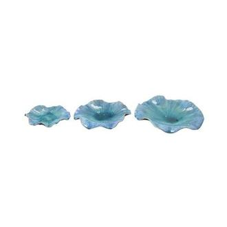 Abella Blue Set of 3 Bowls