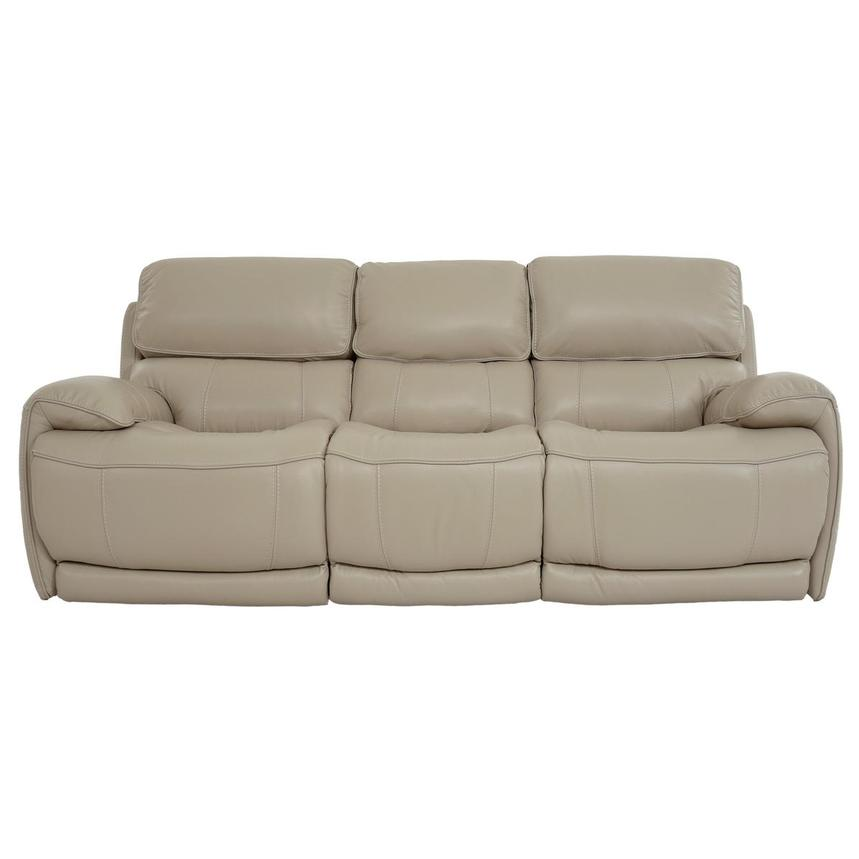 Cody Cream Leather Power Reclining Sofa  main image, 1 of 11 images.