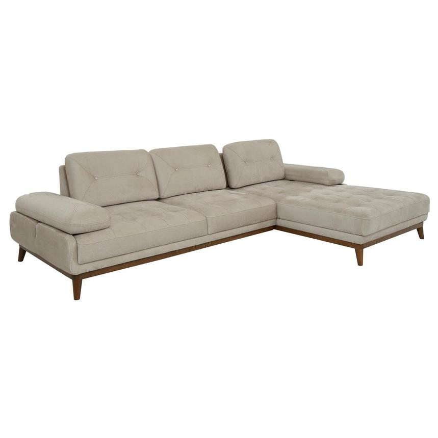 Pralin I Cream Corner Sofa W Right