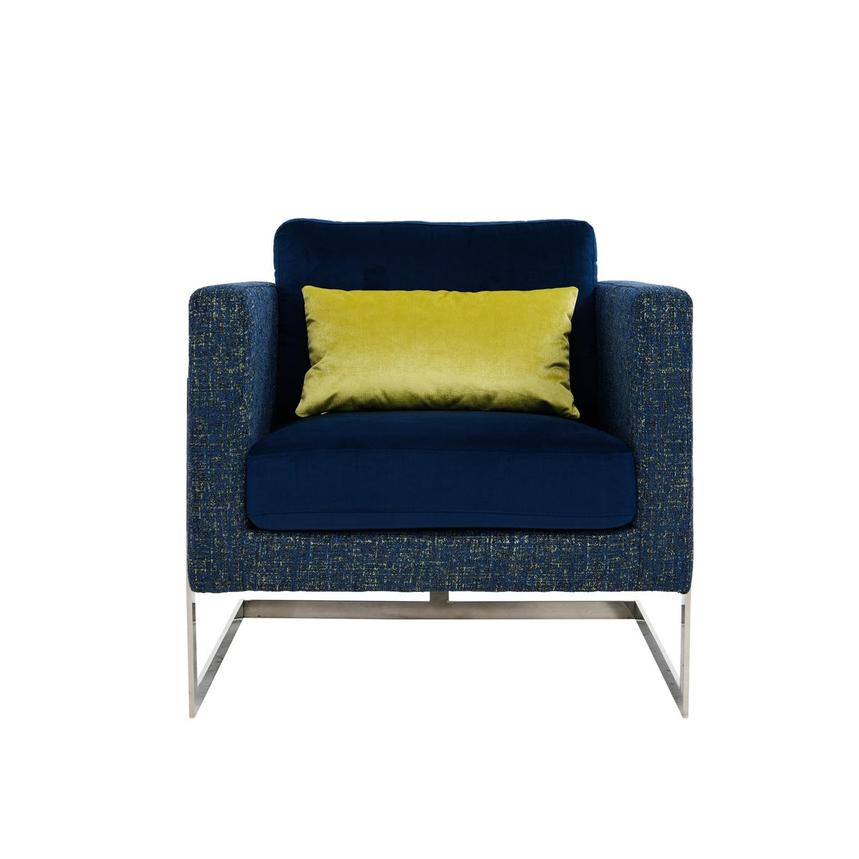 Emma Blue Accent Chair