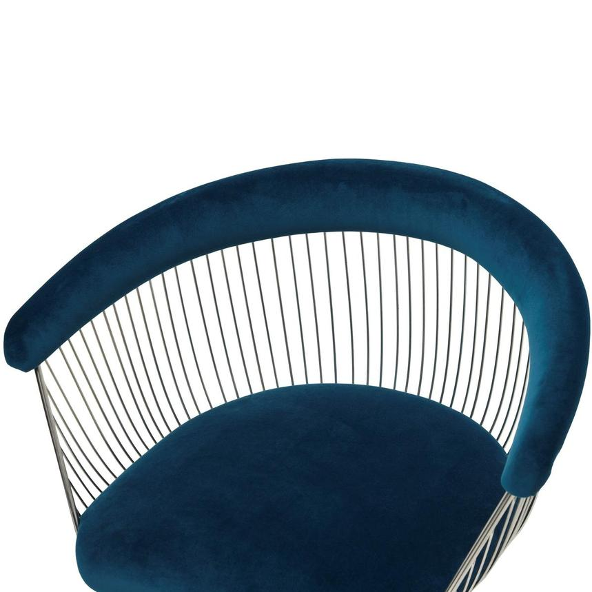 Aviary Blue Accent Chair  alternate image, 5 of 7 images.
