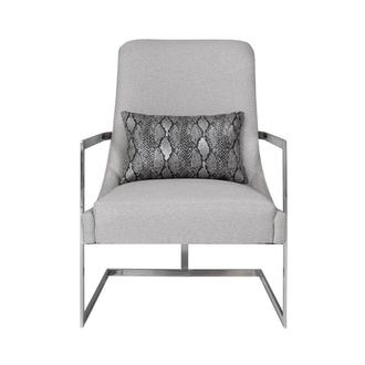 Dimitra Gray Accent Chair