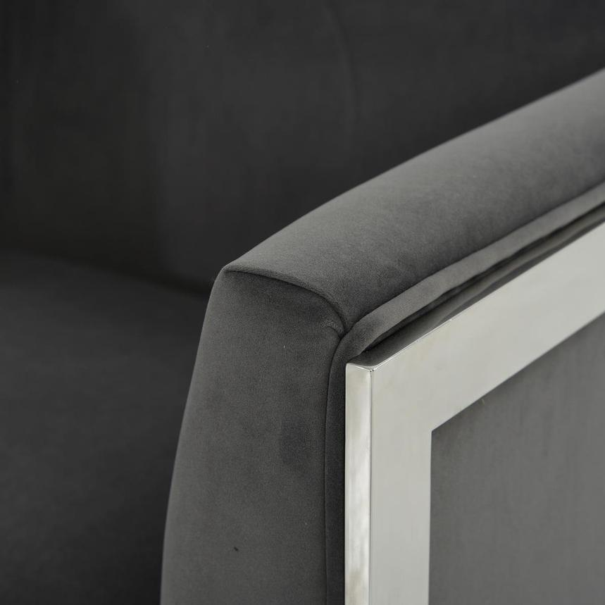 Silber Gray Accent Chair  alternate image, 5 of 6 images.