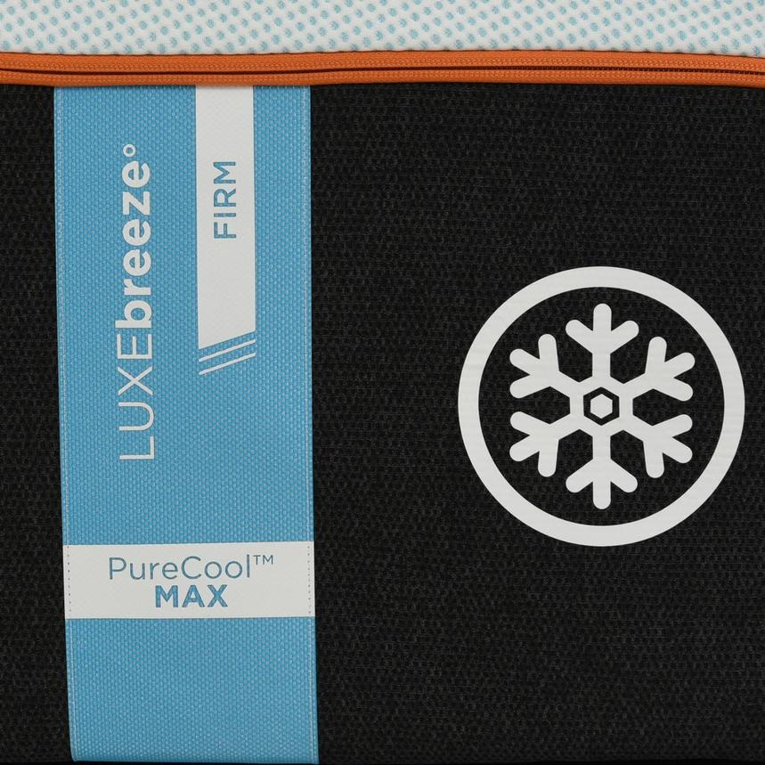 Luxe-Breeze Firm King Mattress w/Low Foundation by Tempur-Pedic  alternate image, 4 of 5 images.