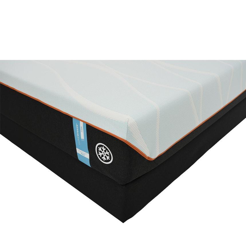new concept 59927 6be78 Luxe-Breeze Firm King Mattress w/Regular Foundation by Tempur-Pedic