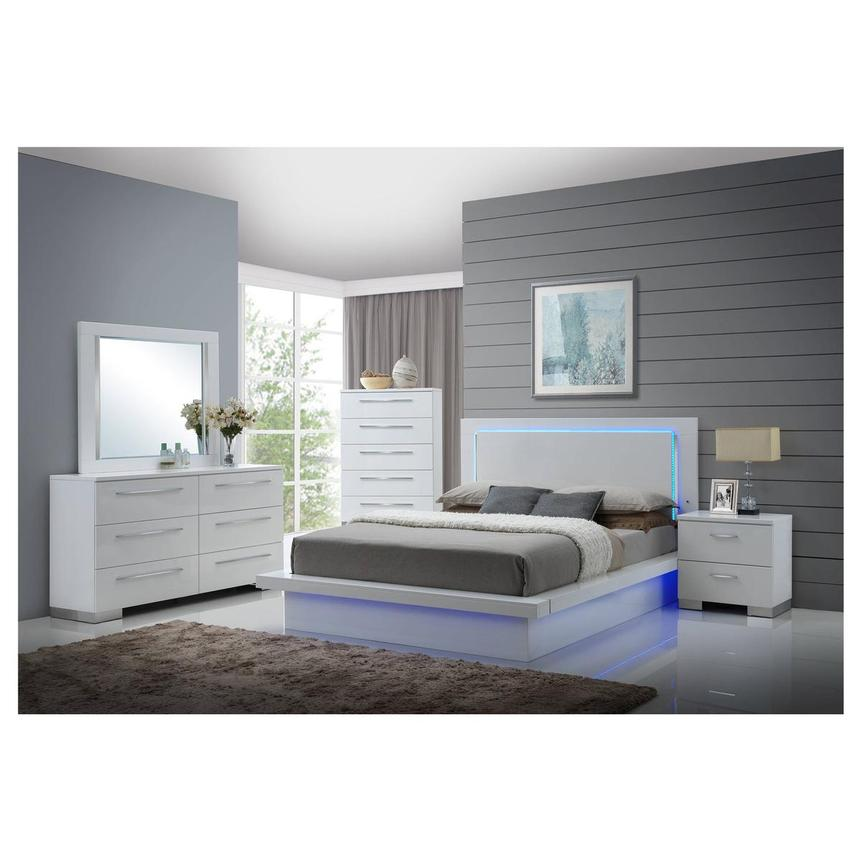 Moonstone 6-Piece King Bedroom Set  alternate image, 2 of 7 images.
