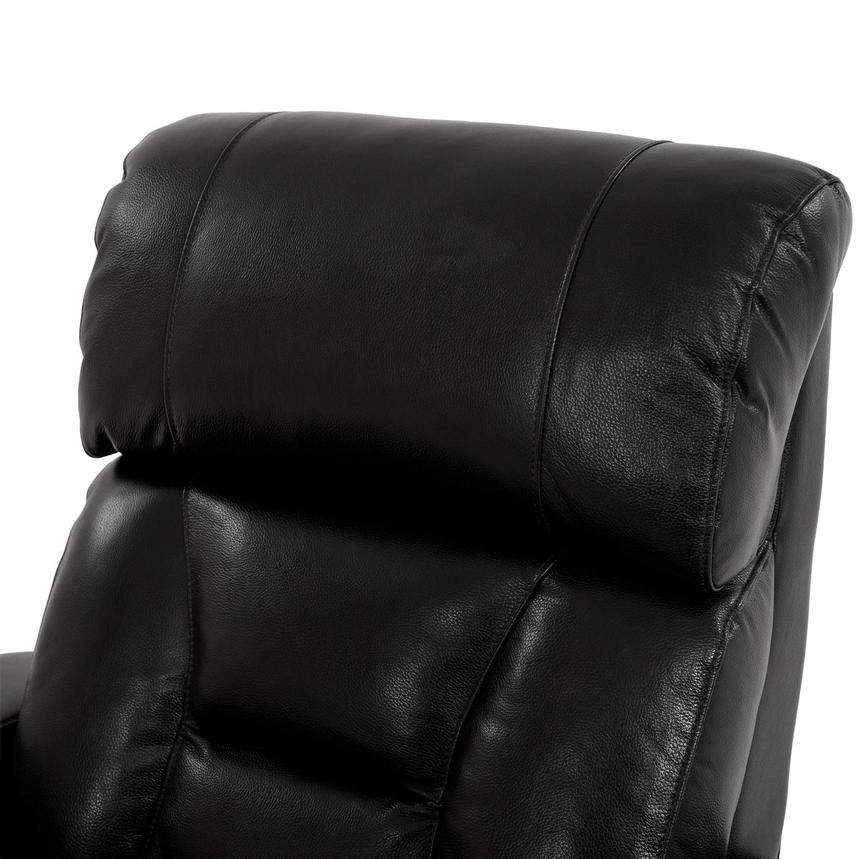 Gio Black Power Motion Leather Recliner  alternate image, 6 of 12 images.