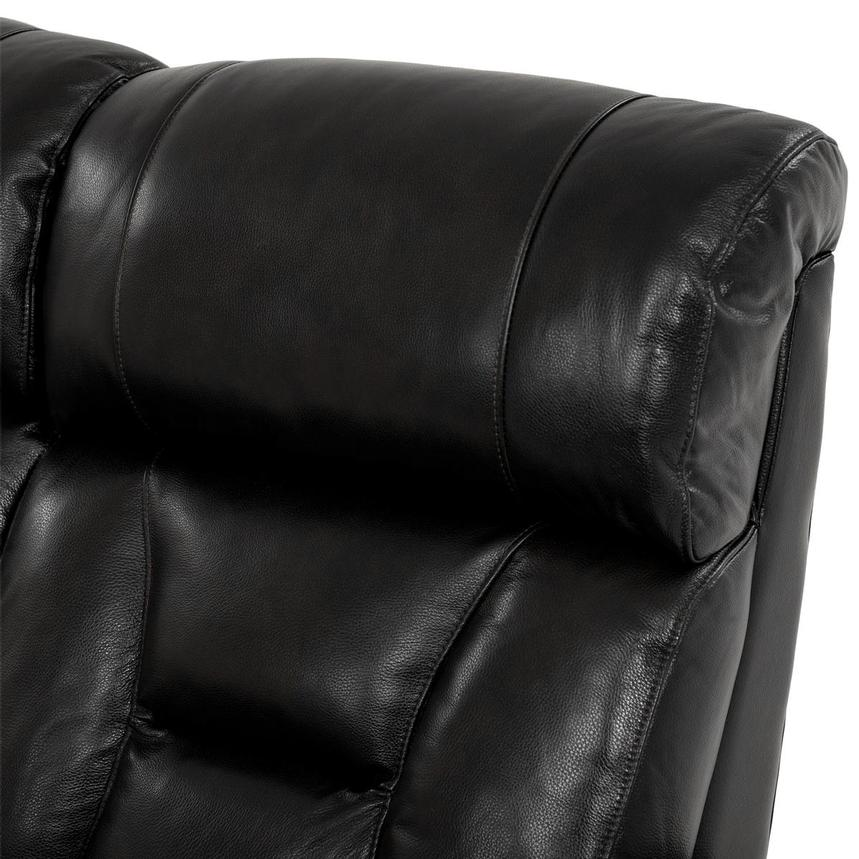 Gio Black Leather Power Reclining Sofa  alternate image, 6 of 18 images.