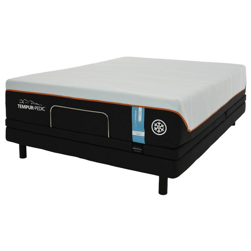 Luxe-Breeze Firm Queen Mattress w/Ergo® Extend Powered Base by Tempur-Pedic  alternate image, 2 of 6 images.