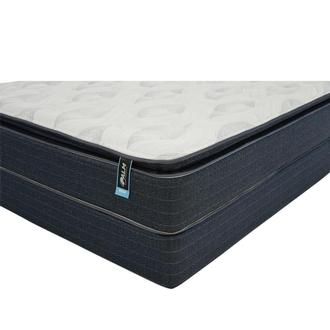 Reef Queen Mattress w/Regular Foundation by Carlo Perazzi