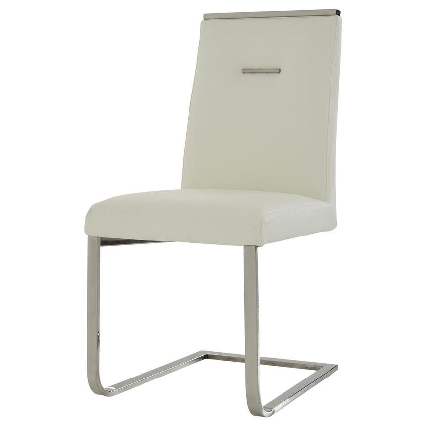 Stina White Side Chair  alternate image, 2 of 7 images.
