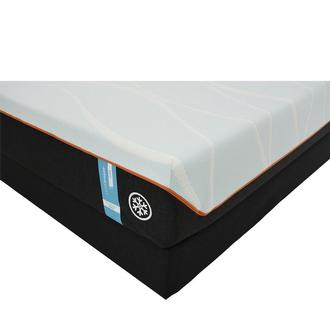 Luxe-Breeze Firm Twin XL Mattress w/Low Foundation by Tempur-Pedic