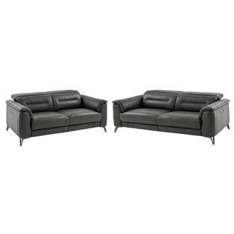 Anabel Gray Living Room Set