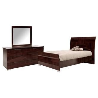 Pisa 3-Piece Queen Bedroom Set Made in Italy