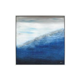 Blue Marina Canvas Wall Art