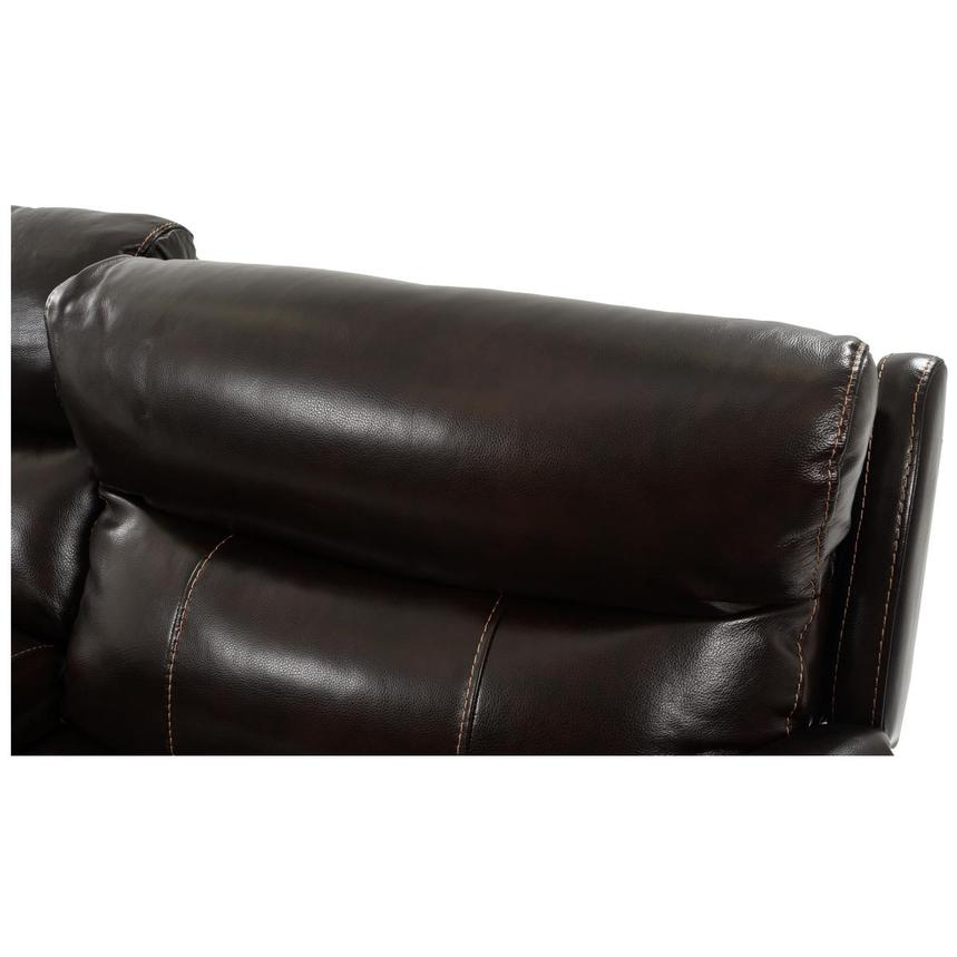 Jeremi Leather Power Reclining Sectional  alternate image, 5 of 8 images.
