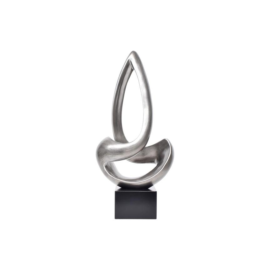 Brizo Silver Sculpture  main image, 1 of 6 images.