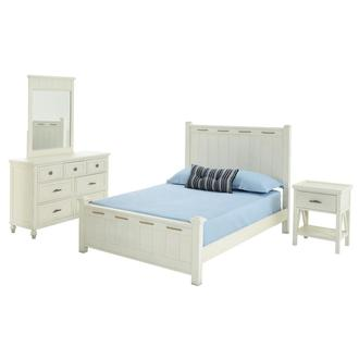 Ocean 4-Piece Queen Bedroom Set