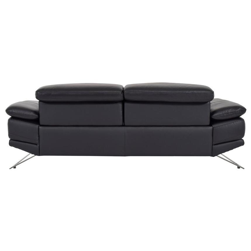 Toronto II Black Leather Power Reclining Sofa