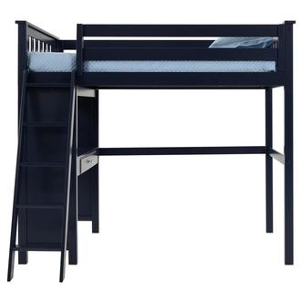 Haus Blue Twin Loft Bed w/Desk