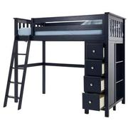 Haus Blue Twin Loft Bed w/Chest  alternate image, 4 of 11 images.