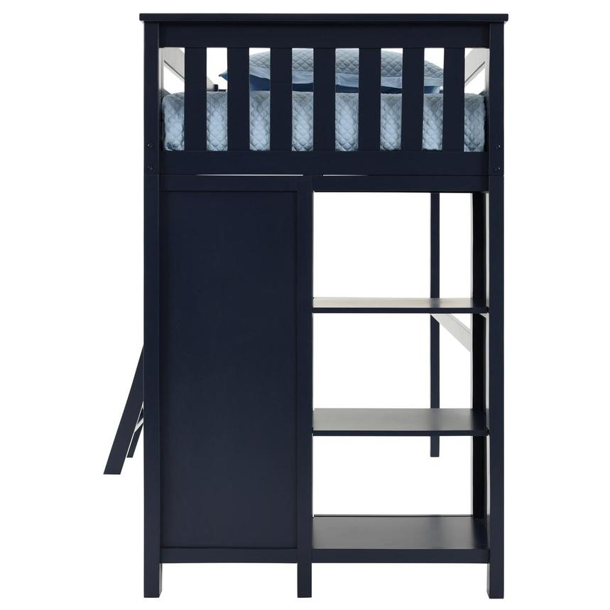 Haus Blue Twin Loft Bed w/Chest  alternate image, 5 of 11 images.