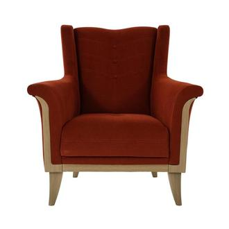 Zirve Orange Accent Chair