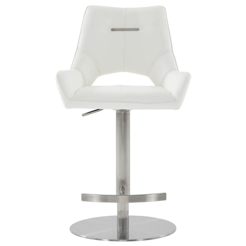 Kalia II White Adjustable Stool  alternate image, 2 of 10 images.
