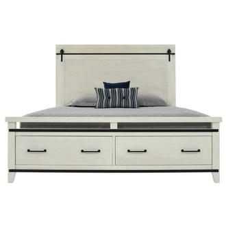 Markus King Storage Bed