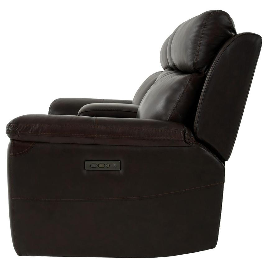 Bronco Leather Power Reclining Sofa w/Console  alternate image, 4 of 12 images.