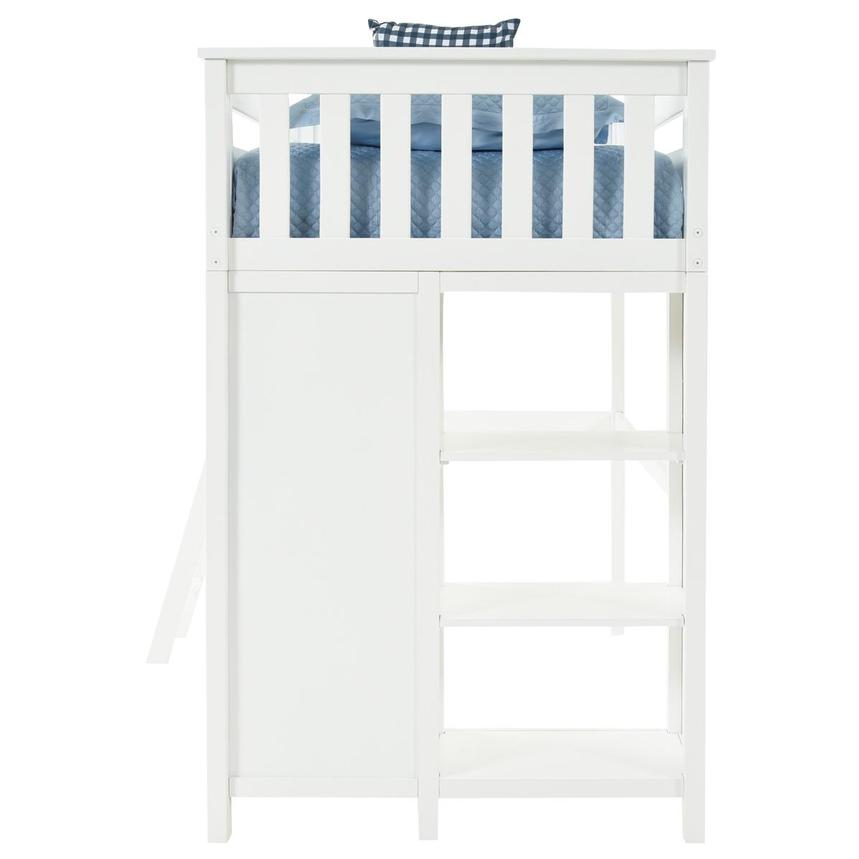 Haus White Twin Loft Bed w/Chest  alternate image, 5 of 13 images.