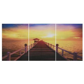 Baie Set of 3 Acrylic Wall Art