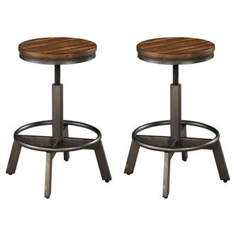 Mulford Set of 2 Adjustable Stool