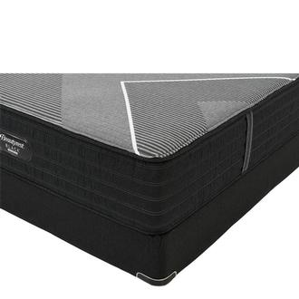 BRB-X-Class Hybrid Med. Firm Full Mattress w/Low Foundation by Simmons Beautyrest Black Hybrid