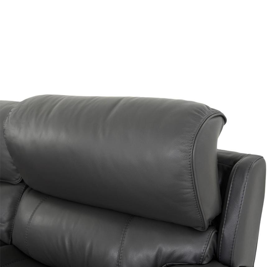 Cody Gray Leather Power Reclining Sectional  alternate image, 5 of 10 images.